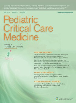 Pediatric critical