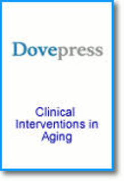 Clinical interventions aging cover