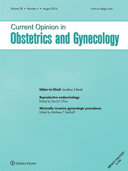 Current opinion obstetrics