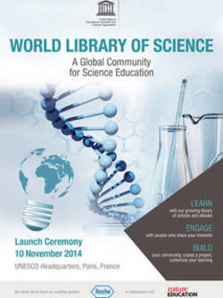 World library science poster