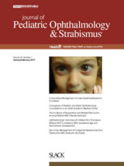 J pediatric ophthalmol